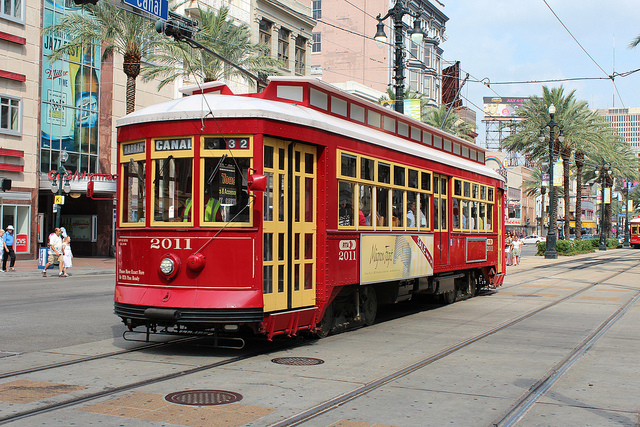 New Orleans Street Cars: A Visit To A Railway Post Office Train.